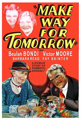 "Make Way for Tomorrow (1937): McCarey wins Oscar ""for the wrong picture"""
