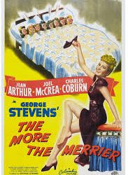 The More the Merrier (1943): Kissin' on the Stoop