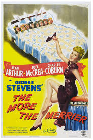 The More the Merrier (1943): Kissin? on the Stoop